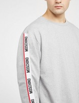 Moschino Arm Tape Crew Neck Sweatshirt
