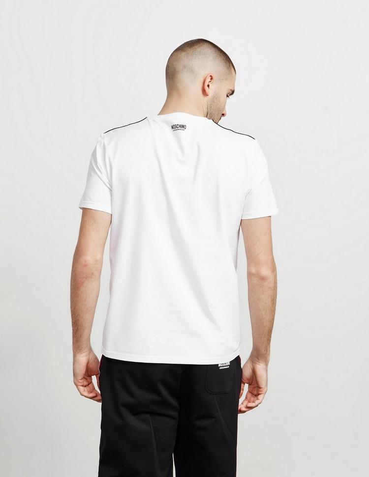 Moschino Shoulder Tape Short Sleeve T-Shirt