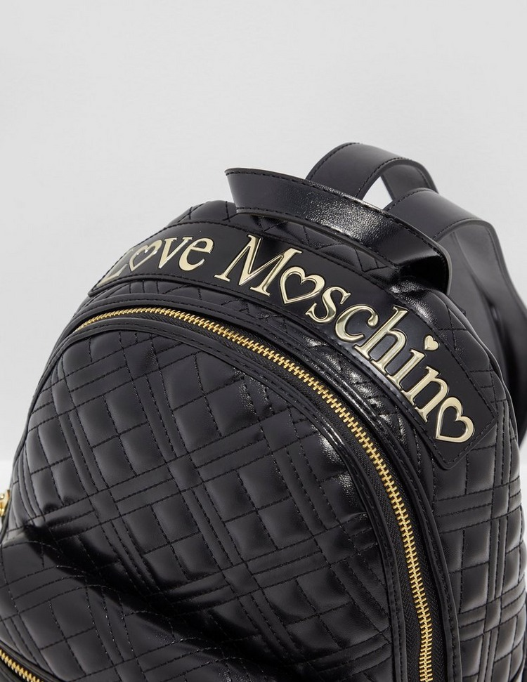 Love Moschino Quilted Backpack