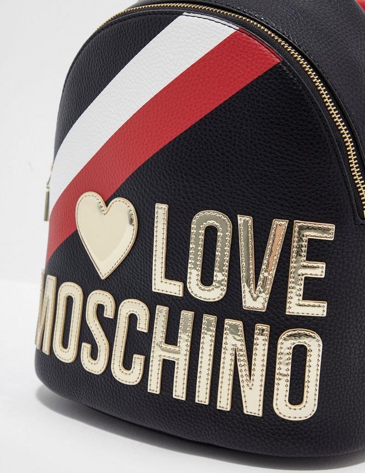 Love Moschino Stripe Backpack