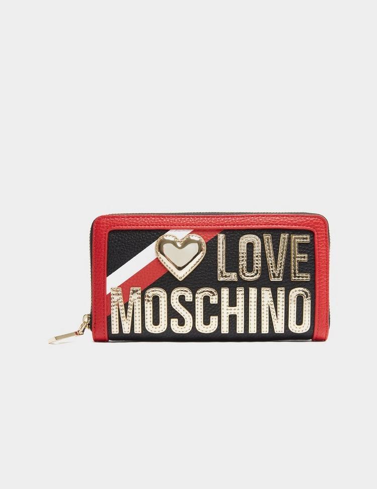 Love Moschino Stripe Purse