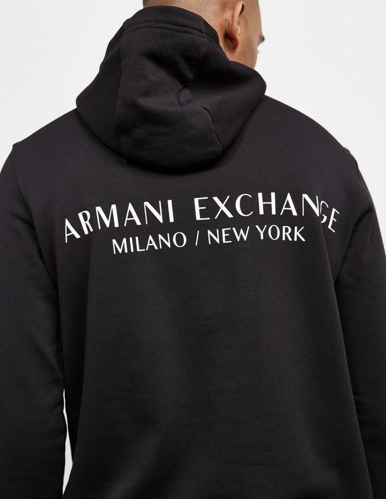 Armani Exchange Central Back Logo Hoodie