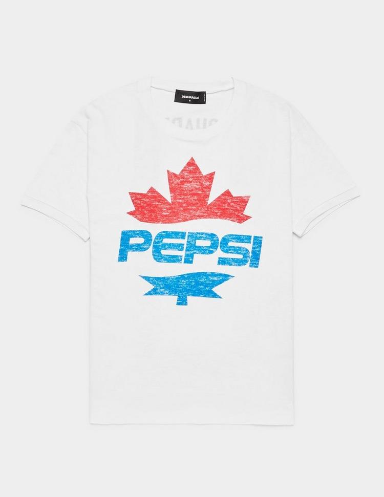 Dsquared2 x Pepsi Leaf Short Sleeve T-Shirt