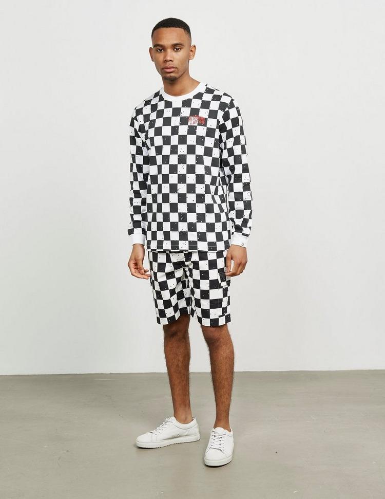 Billionaire Boys Club Check Long Sleeve T-Shirt