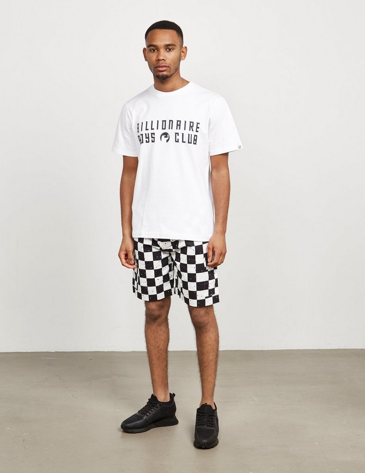 Billionaire Boys Club Check Shorts