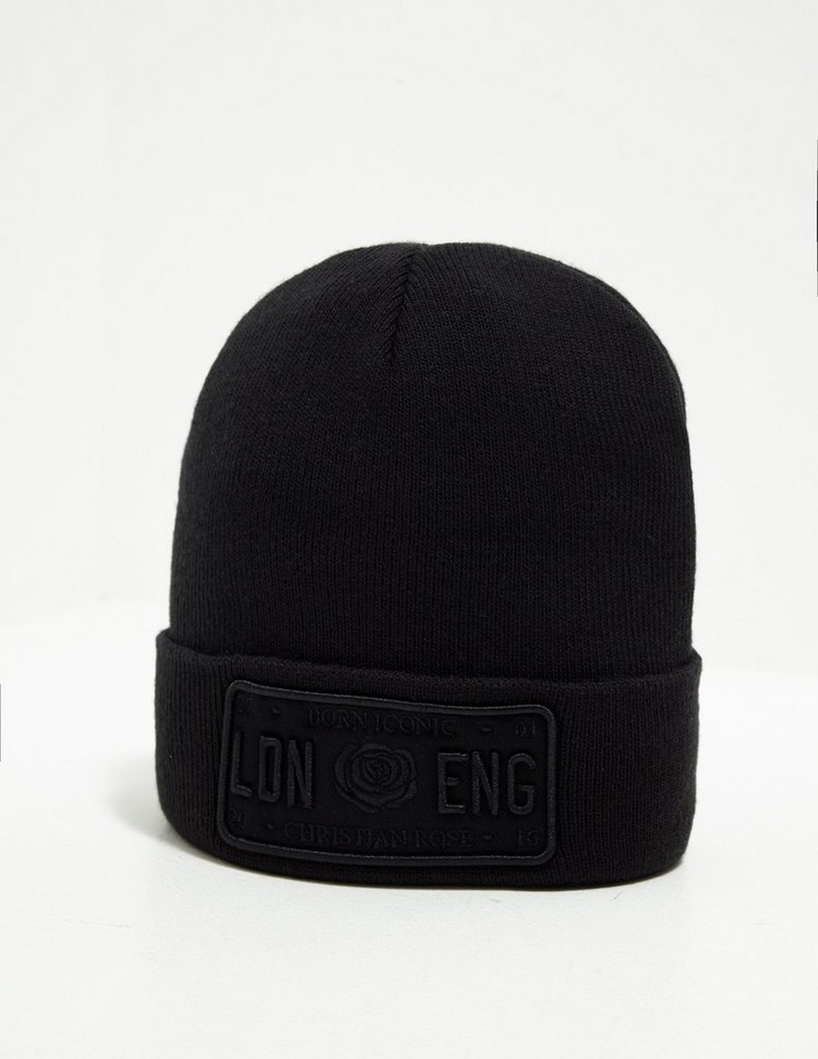 Christian Rose Icon Beanie