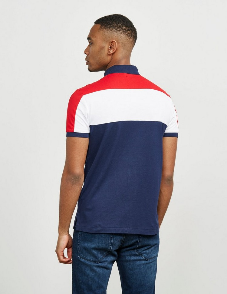 Polo Ralph Lauren Colour Block Short Sleeve Polo Shirt