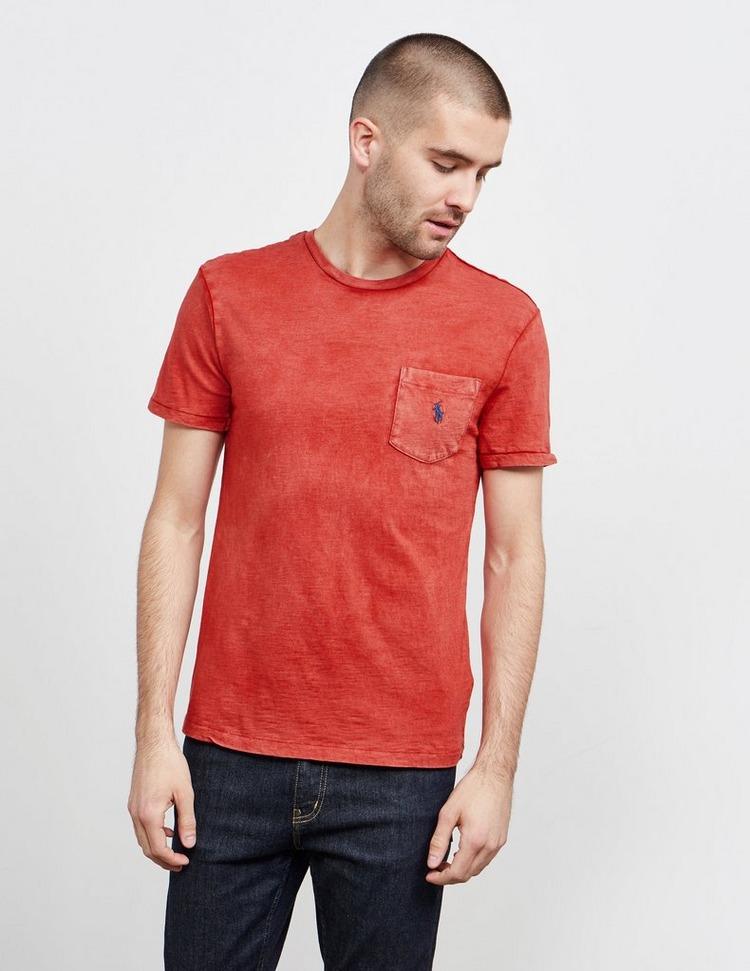 Polo Ralph Lauren Slub Pocket Short Sleeve T-Shirt