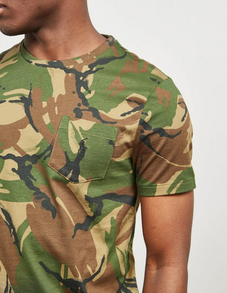 Polo Ralph Lauren Camouflage Pocket Short Sleeve T-Shirt