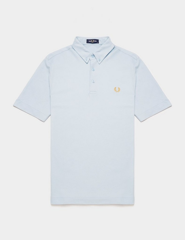 Fred Perry Button Down Short Sleeve Polo Shirt