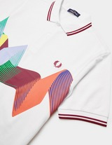 Fred Perry Abstract Short Sleeve Polo Shirt