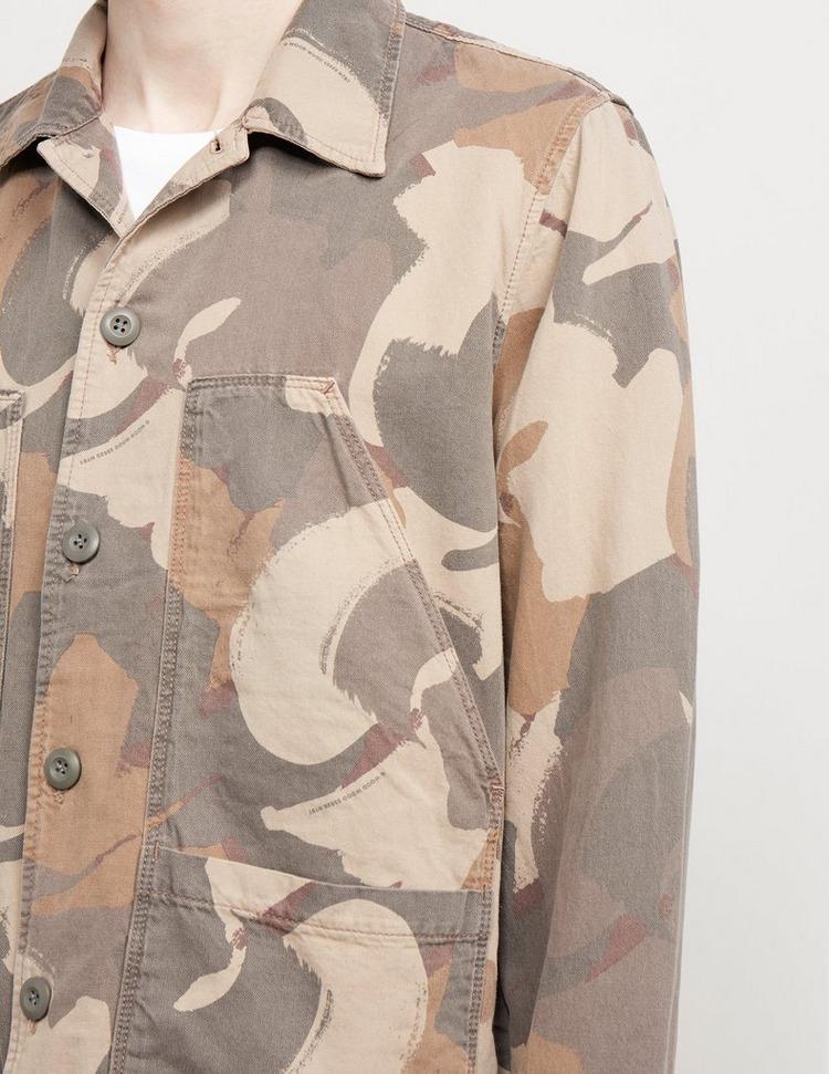 Wood Wood Fabian Camouflage Overshirt