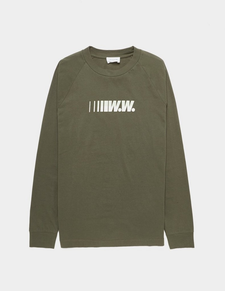 Wood Wood Han Logo Long Sleeve T-Shirt