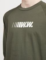 Wood Wood Han Logo Long Sleeve T-Shirt