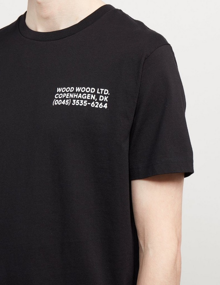 Wood Wood Info Short Sleeve T-Shirt