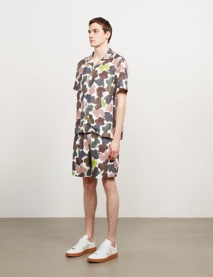 Wood Wood Hamilton Camouflage Shorts