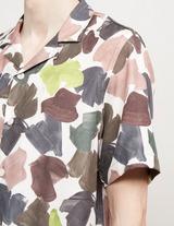 Wood Wood Brandon Camo Short Sleeve Shirt