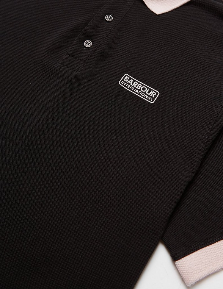 Barbour International System Short Sleeve Polo Shirt