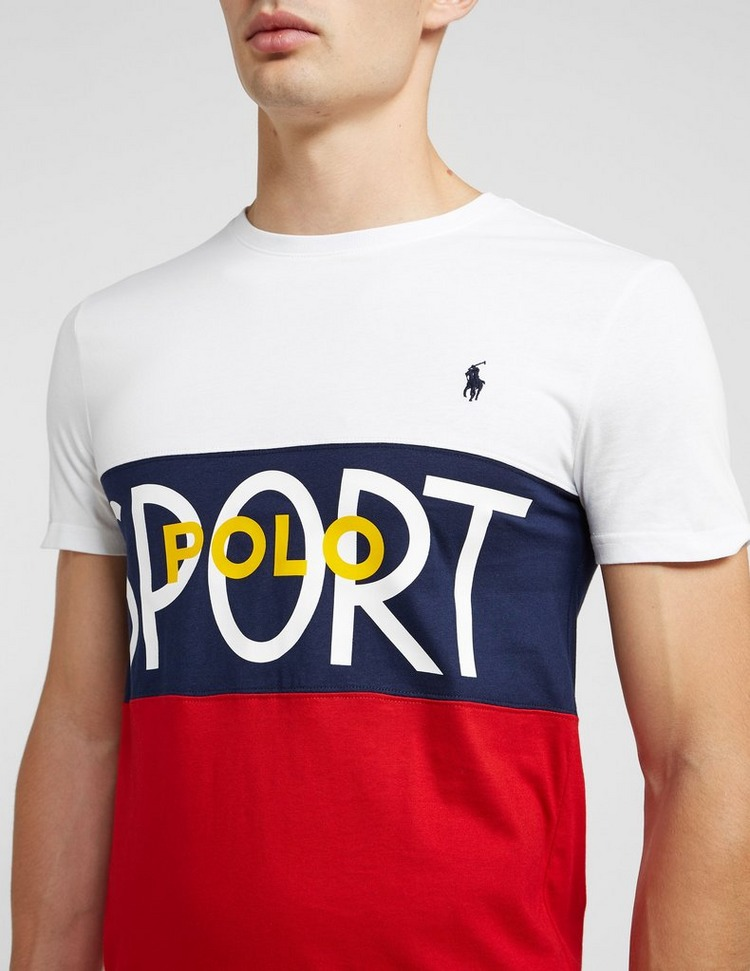 Polo Ralph Lauren Colour Block Short Sleeve T-Shirt
