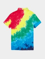 Polo Ralph Lauren Tie Dye Mesh Short Sleeve Polo Shirt