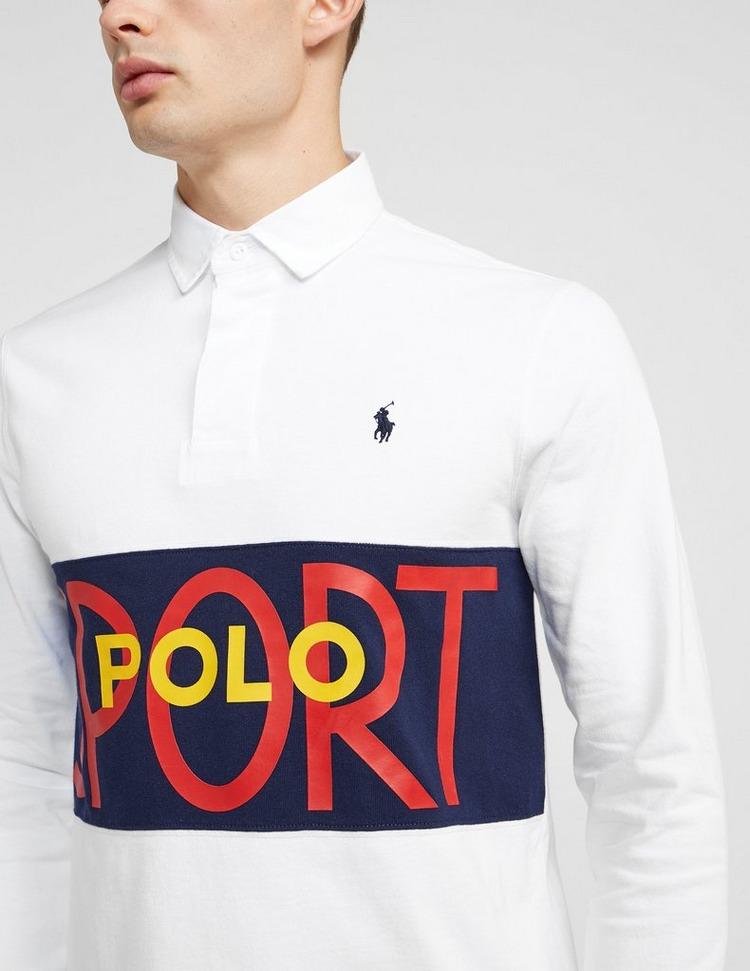 Polo Ralph Lauren Rugby Long Sleeve Polo Shirt