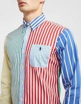 Polo Ralph Lauren Colour Block Long Sleeve Stripe Shirt