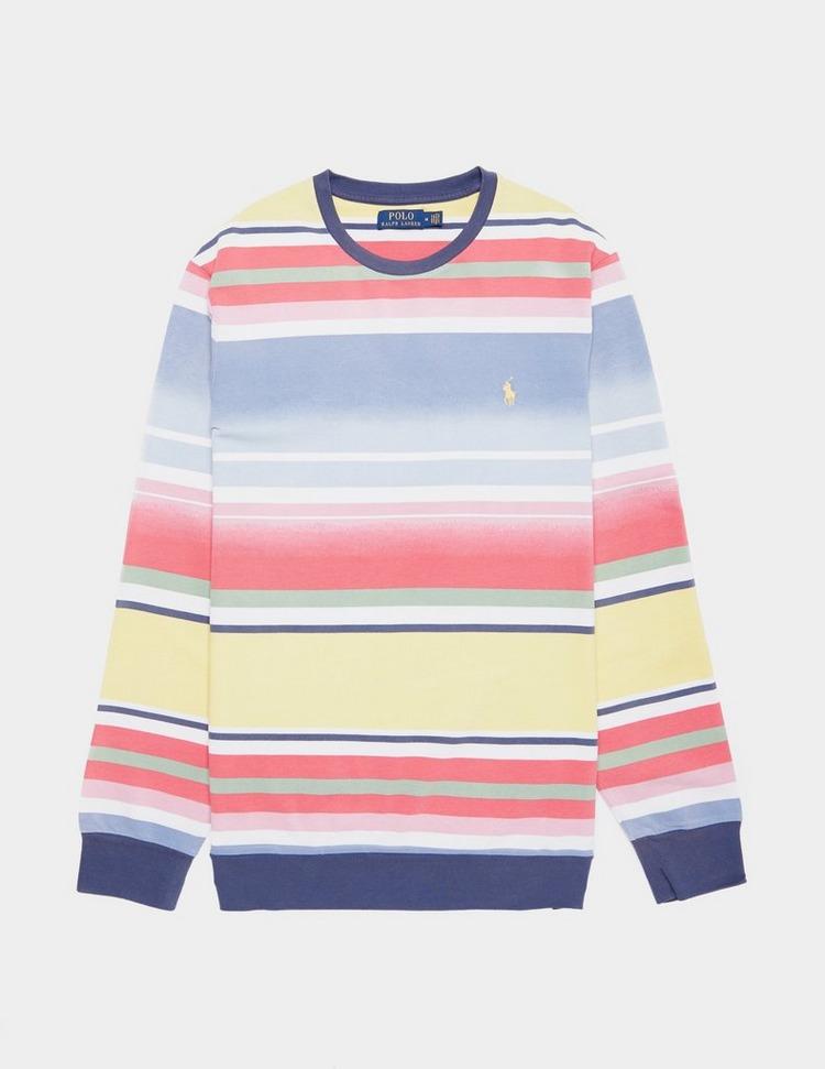Polo Ralph Lauren Stripe Crew Sweatshirt
