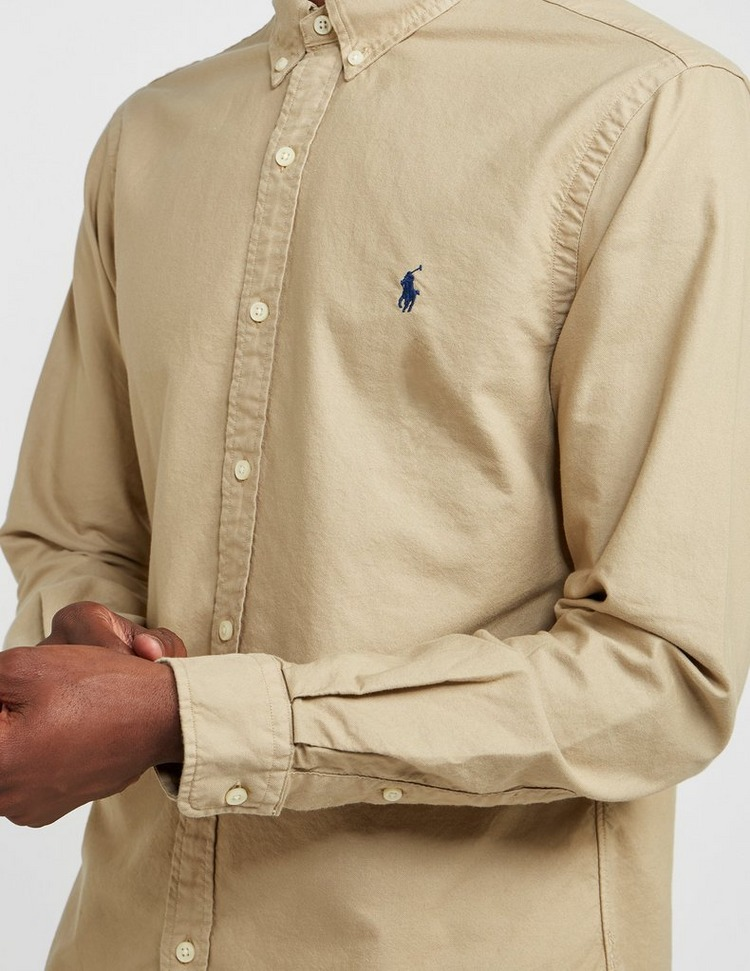 Polo Ralph Lauren Dyed Long Sleeve Oxford Shirt