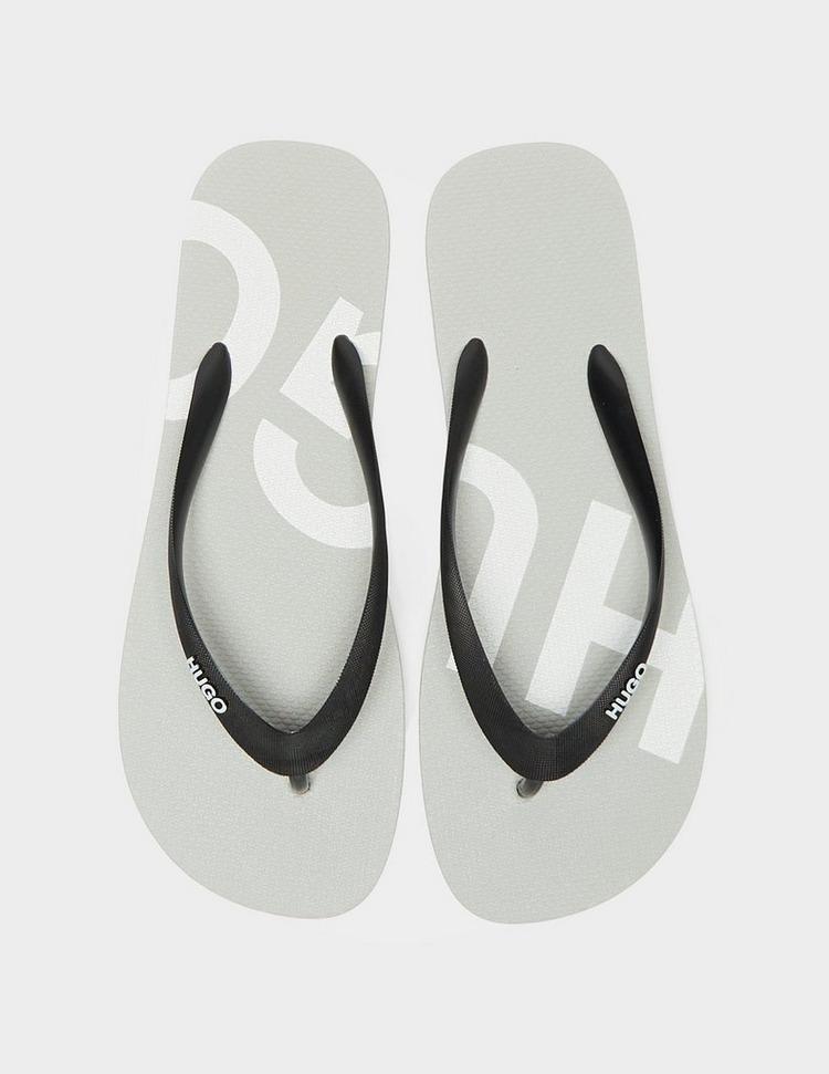 HUGO Logo Flip Flops