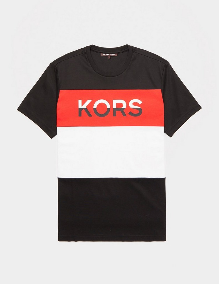 Michael Kors Block Logo Short Sleeve T-Shirt