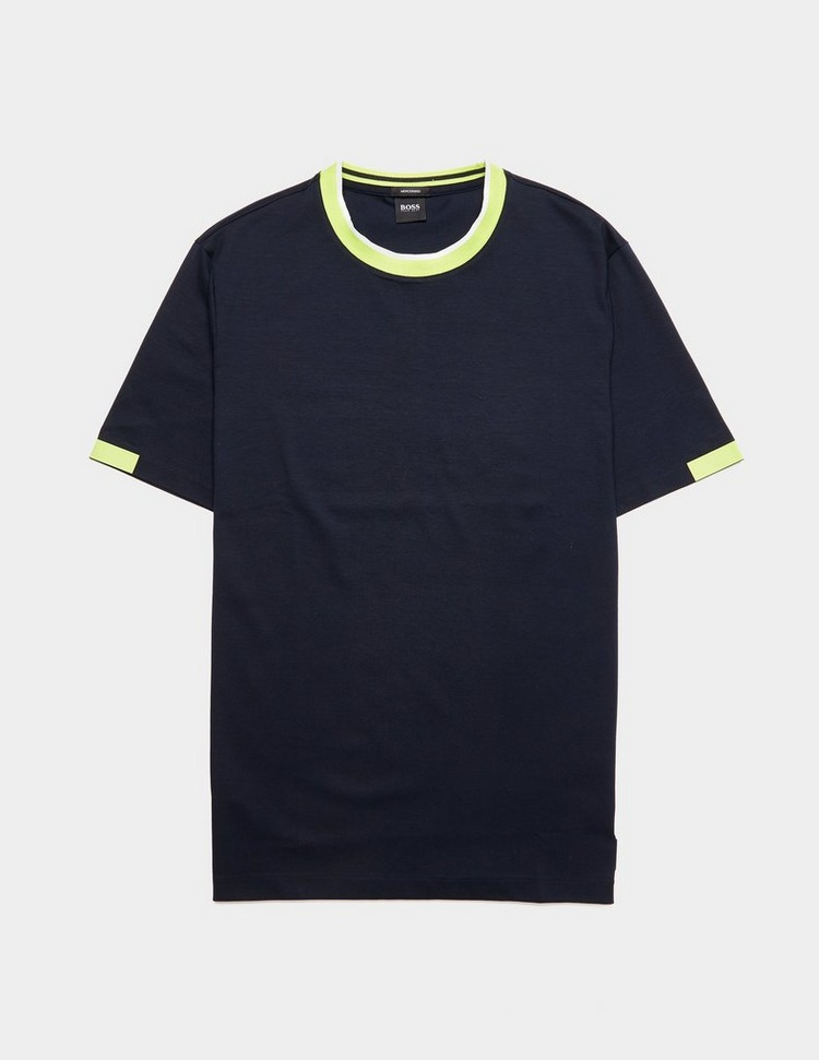 BOSS Tibert Tipped Short Sleeve T-Shirt