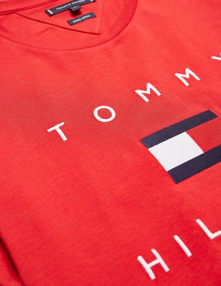 Tommy Hilfiger Embroidered Flag Short Sleeve T-Shirt