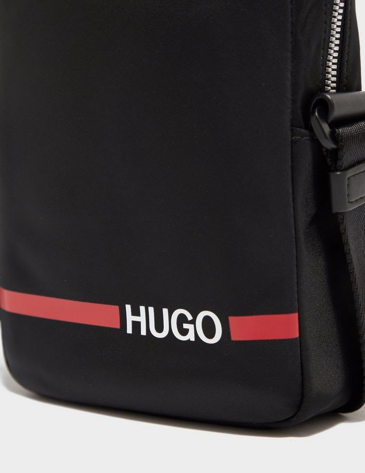 HUGO Record Stripe Cross Body Bag