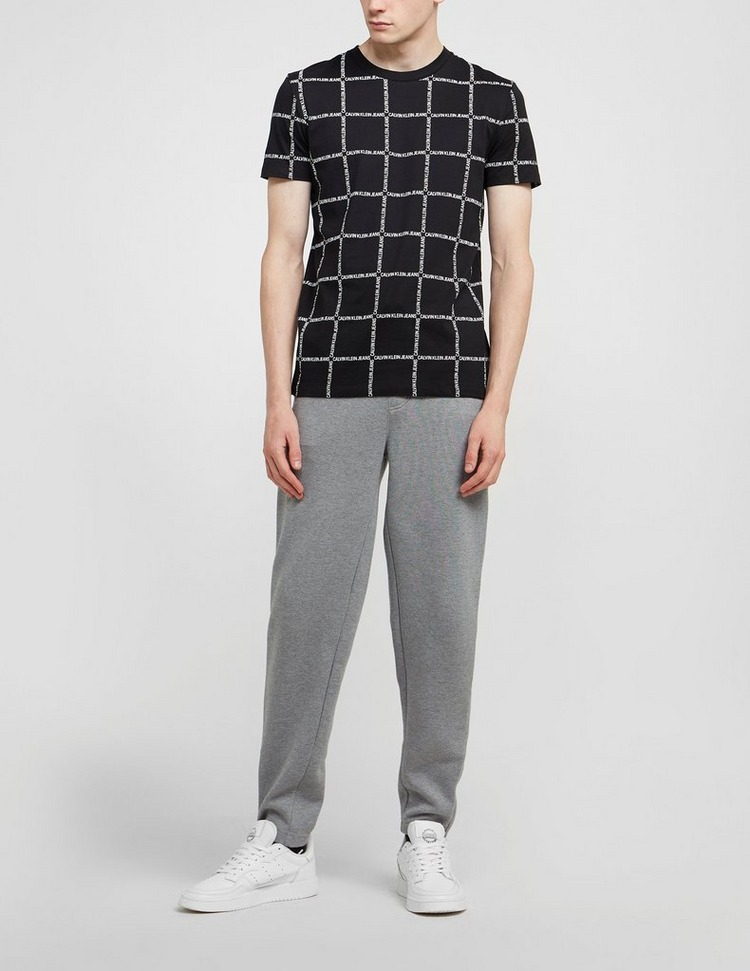 Calvin Klein Jeans All Over Grid Logo Short Sleeve T-Shirt