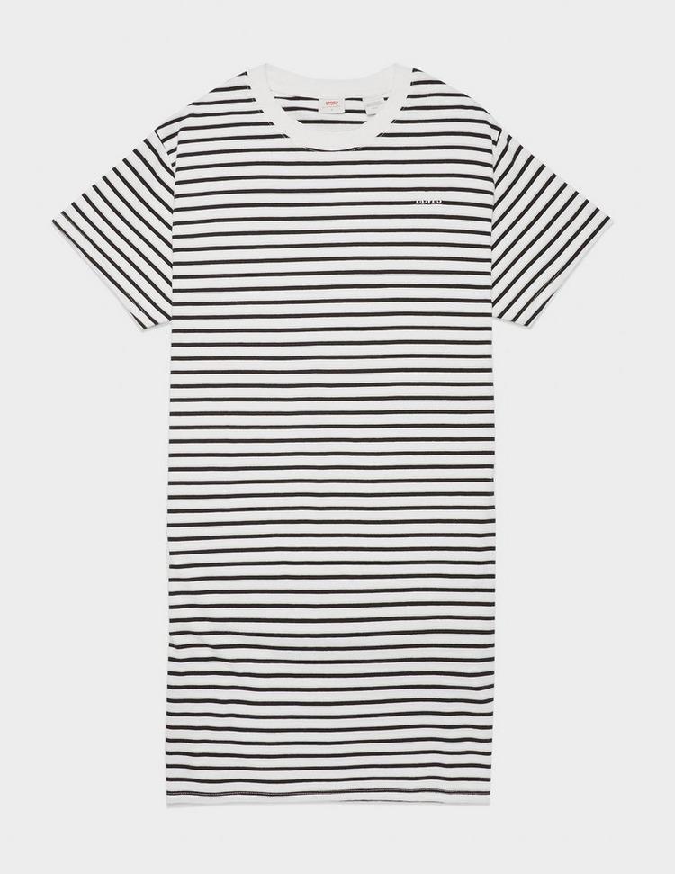 Levis Logo Stripe T-Shirt Dress