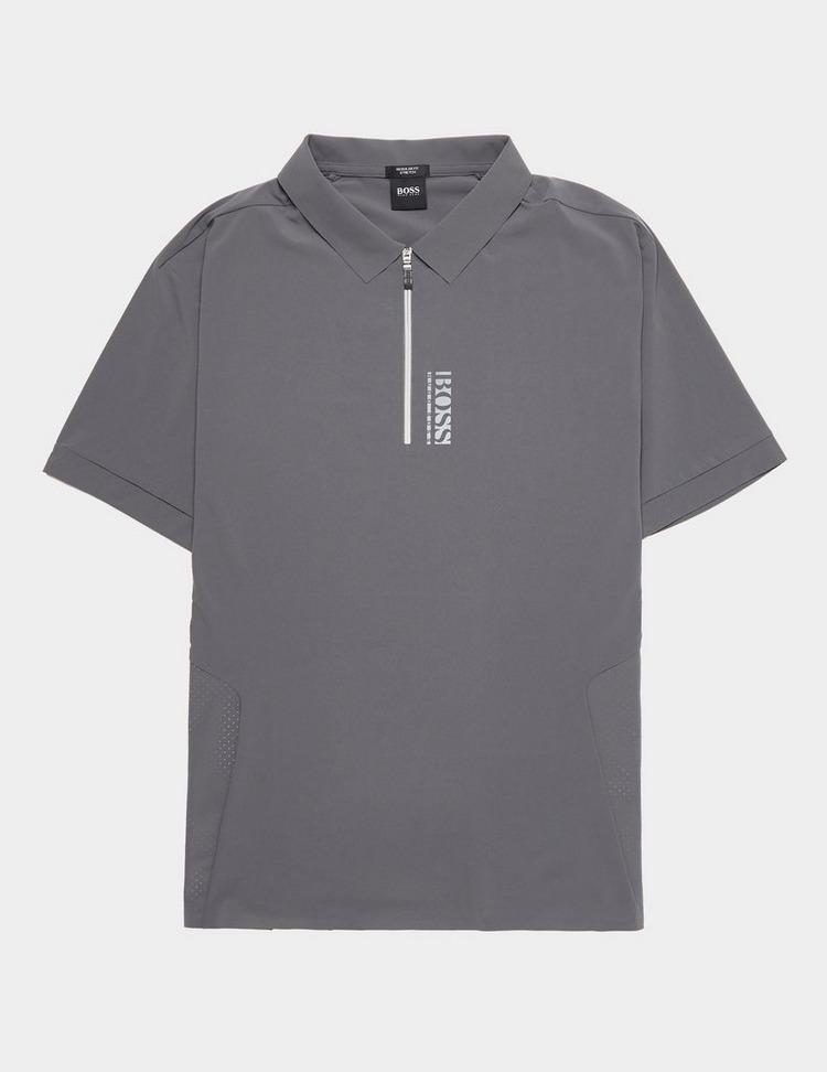 BOSS Pariq Tech Short Sleeve Polo Shirt