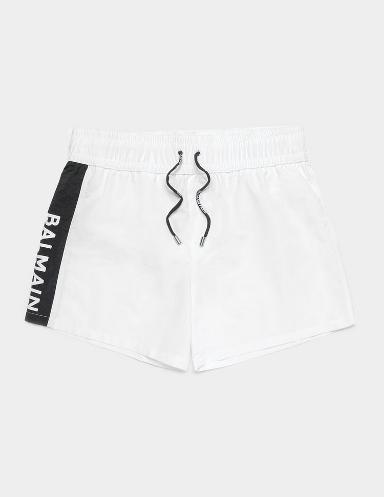 Balmain Logo Swim Shorts