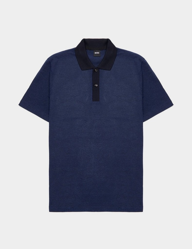 BOSS Piket Short Sleeve Polo Shirt