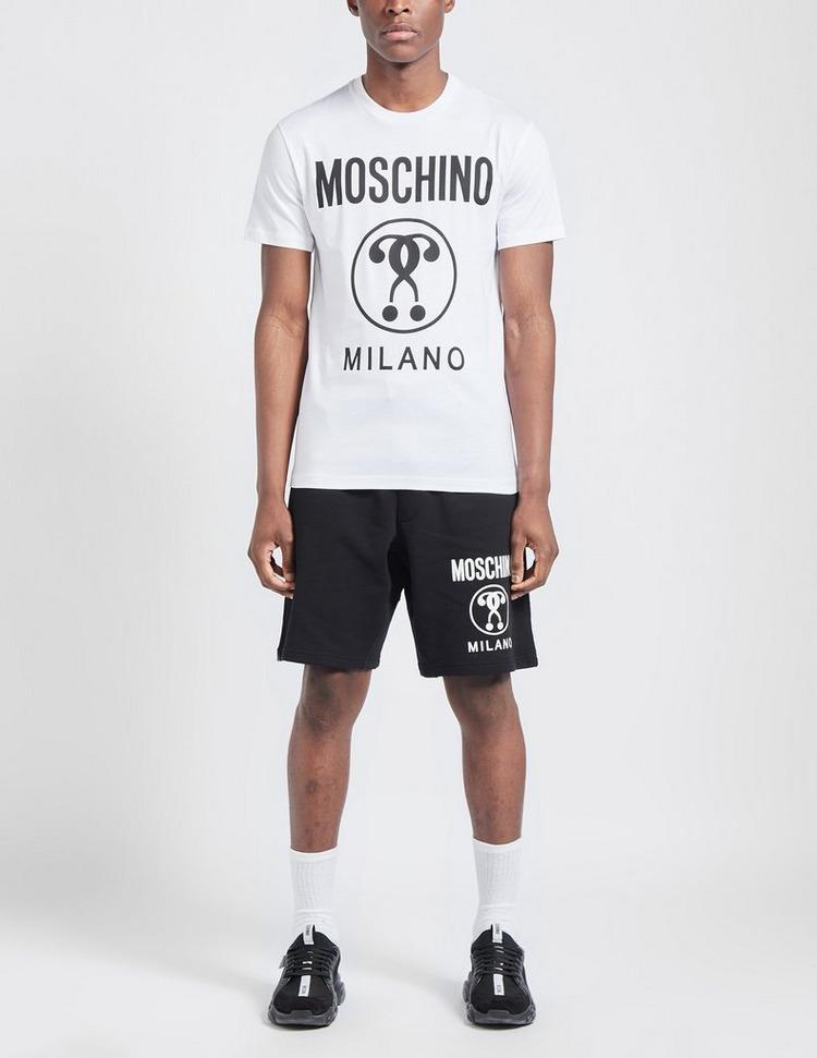 Moschino Circle Logo Short Sleeve T-Shirt