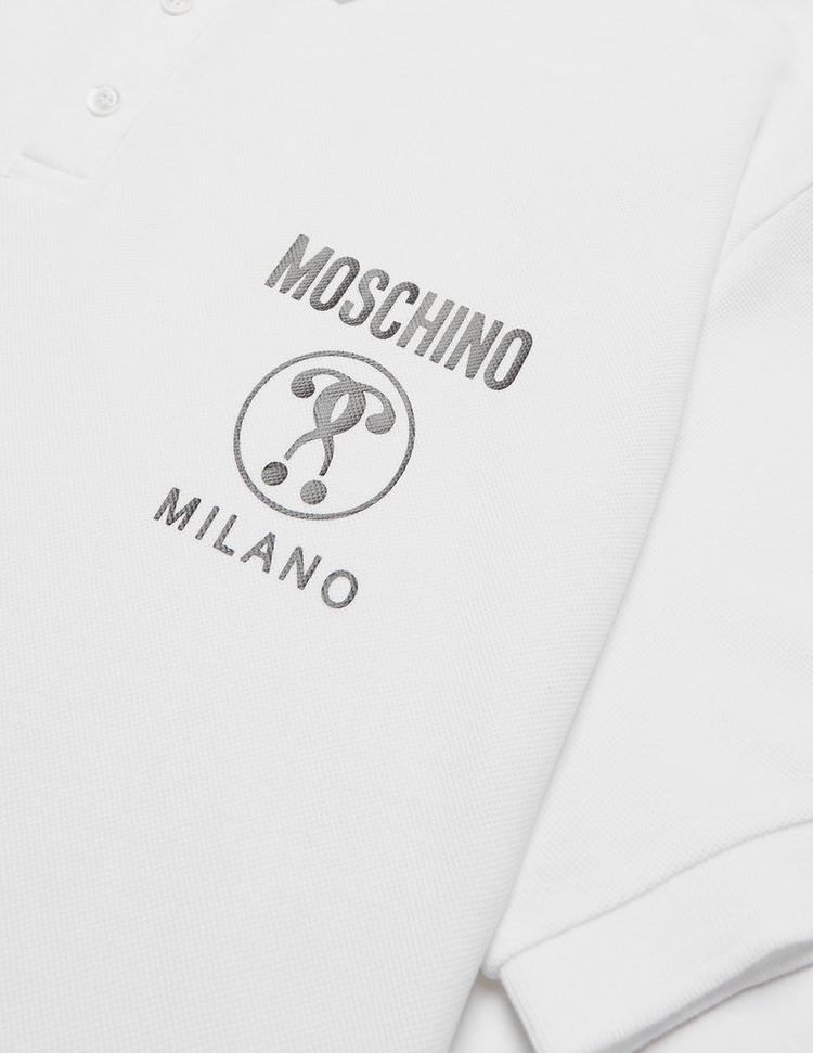 Moschino Milano Short Sleeve Polo Shirt