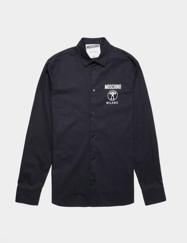 Moschino Logo Long Sleeve Shirt
