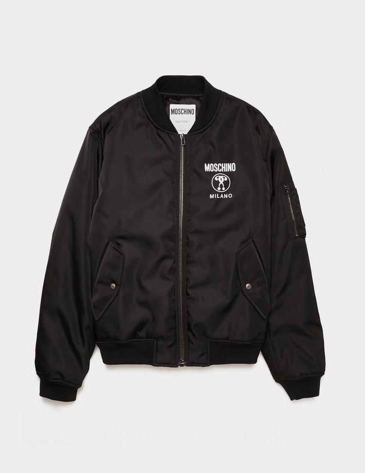Moschino Nylon Bomber Jacket