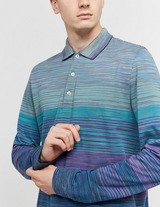 Missoni All Over Dye Long Sleeve Polo Shirt