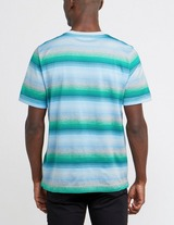 Missoni Thick Stripe Dye Short Sleeve T-Shirt