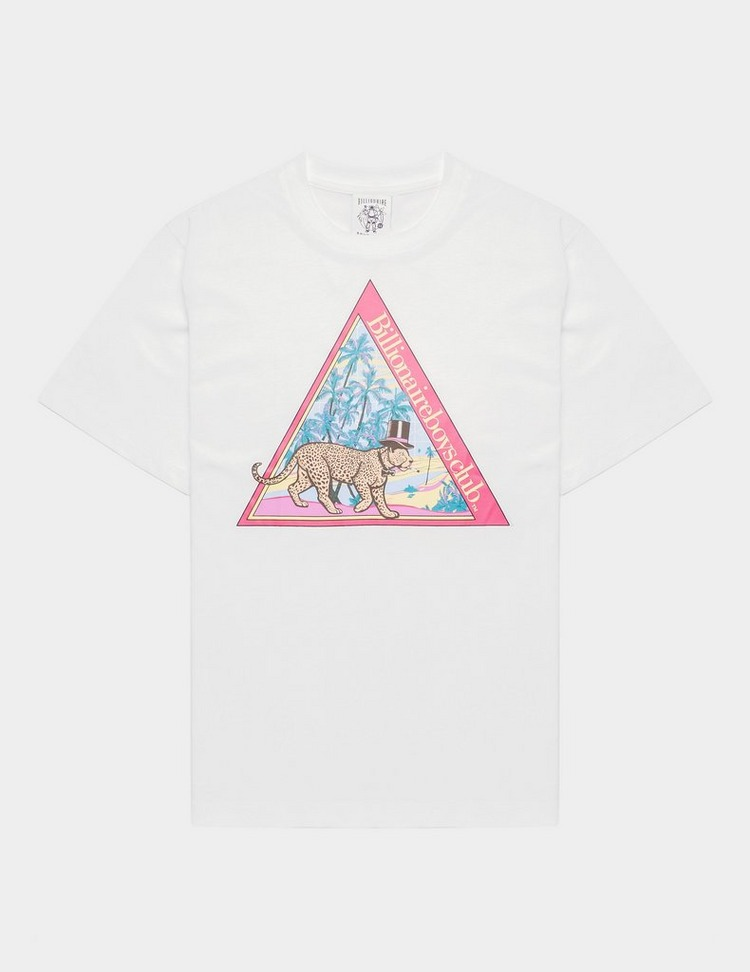 Billionaire Boys Club Leopard Pyramid Short Sleeve T-Shirt