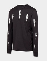 Neil Barrett Halo Bolt Long Sleeve T-Shirt