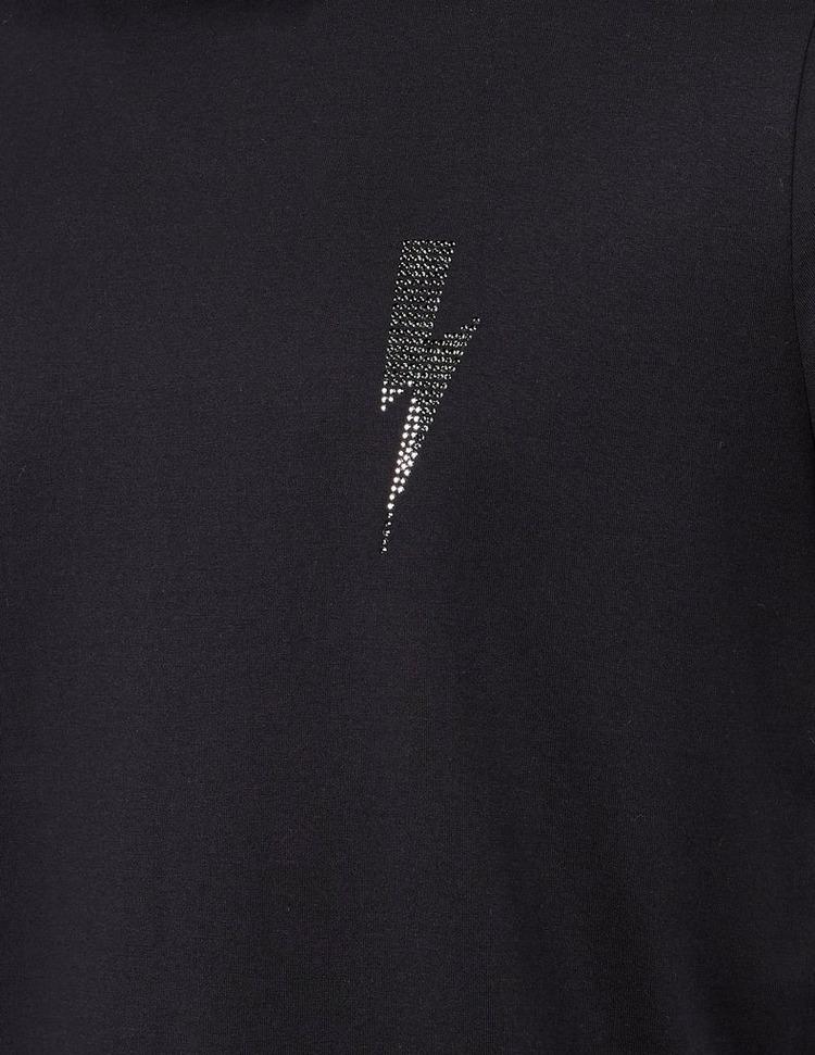 Neil Barrett Swarovski Bolt Short Sleeve T-Shirt