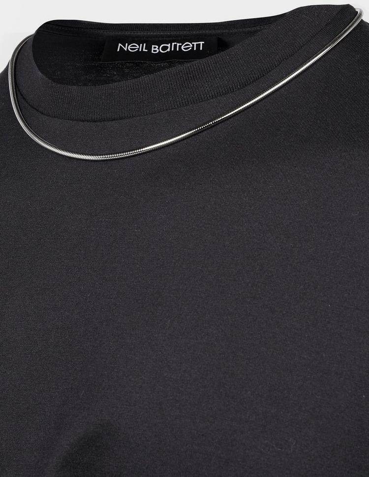 Neil Barrett Chain Short Sleeve T-Shirt