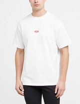 424 Red Embroidered T-Shirt