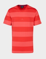 PS Paul Smith Central Logo Wide Stripe Short Sleeve T-Shirt